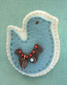 little Z handmade: Winter raamvogel