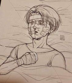 Fked up but still alive Levi Ackerman, Levi X Eren, Armin, Ereri, Levihan, Attack On Titan Jean, Attack On Titan Anime, Maou Sama, Rivamika