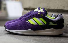 adidas Originals Tech Super - Purple & Electricity Yellow   KicksOnFire
