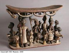 Yoruba Shrine Stool, Nigeria