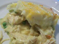 Chicken Shepherds Pie Recipe Just A Pinch Recipes Chicken Shepherd's Pie, Chicken Recipes, Apple Chicken, Chicken Sauce, Mango Chicken, Canned Chicken, Chicken Marinades, Chicken Meals, Recipe Chicken