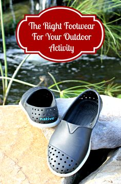 The Right Footwear For Your Outdoor Activity pin