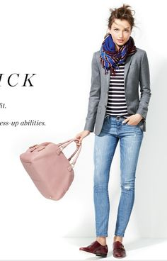 Great pose/outfit inspiration from J Crew catalog.