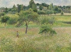 Camille Pissarro - Pommiers à Éragny, 1894