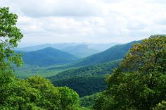picture I found on google of a view from Black Mountain, NC-I loooovee that part of the state