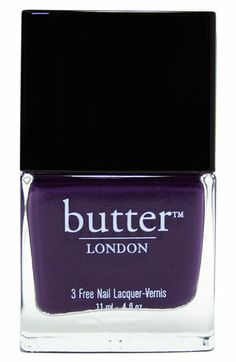 butter LONDON 'marrow' dark purple shade