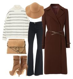 """""""Untitled #815"""" by queenvictorias on Polyvore featuring Hobbs, Frame Denim, MICHAEL Michael Kors, Chloé, Sans Souci, women's clothing, women's fashion, women, female and woman"""