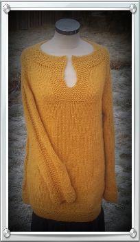Min versjon av StellaCharmingDesign sin genser Skogfrue