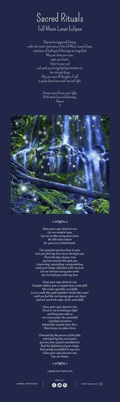 Sacred Rituals Full Moon Lunar Eclipse Dearest loving graceful…