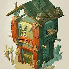 Catell Ruz wakfu artist