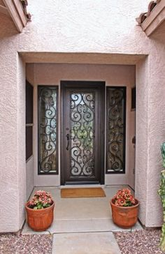 Vistancia Iron Entry Doors #Firstimpression