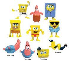 SpongeBob SquarePants Figurines (Series Bulk - SpongeBob SquarePants and friends figurines bulk 100 per bag. 100 figures per bag Sorry no partial orders . Spongebob Party Supplies, Spongebob Birthday Party, 8th Birthday, Birthday Ideas, Birthday Parties, Spongebob Patrick, Kids Board, Good Buddy, Spongebob Squarepants