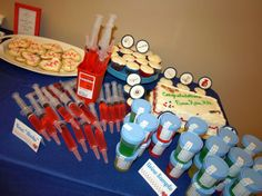 Can we have a graduation party like this? Nursing Graduation Pictures, Nursing School Graduation, Graduate School, Graduation 2016, Graduation Ideas, Nurse Grad Parties, Nurse Party, School Parties, Medical Party