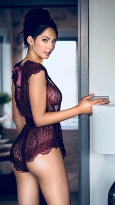 firm are her buttocks in gorgeous lingerie - and her tits - barely visibile under the cloth Belle Lingerie, Hot Lingerie, Hot Girls, Sexy Outfits, Beauté Blonde, Corpo Sexy, Gorgeous Lingerie, Femmes Les Plus Sexy, Gorgeous Women