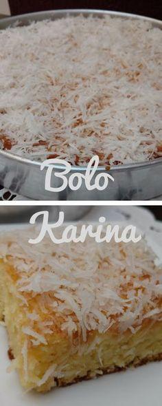 Delicioso bolo amanteigado com calda de coco. Deliciosamente molhadinho. #bolo #bolocaseiro