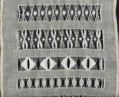 Drawn Thread Work - site in Spanish - Costurero de vainicas de Manoli