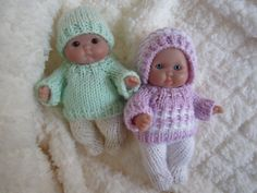 New for 2014  a knitting pattern for the itty bitty baby dolls- instant download available here: https://www.etsy.com/listing/174849275/doll-clothing-knit-pattern-berenguer?ref=shop_home_active