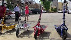 Sustainable Solar-Powered Scooters - The Solar Electric Scooter is Fast and Furious-ly Eco-Friendly