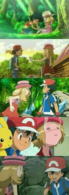 Ash and Serena's Time Together in the Kalos Region