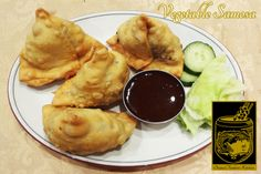 Vegetable Samosa ~ Two crisp patties stuffed with potatoes, peas and spices at Original Tandoori Kitchens Vegetable Samosa, Best Butter, Indian Food Recipes, Ethnic Recipes, Butter Chicken, Crisp, Kitchens, Spices, Potatoes