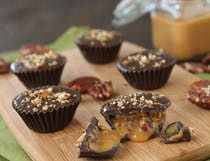 Dulce de Leche Chocolate Cups photo