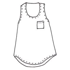 Wiksten Tank Sewing Pattern Downloadable PDF