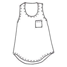Wiksten Tank Sewing Pattern Downloadable PDF
