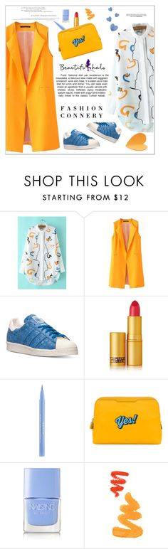 """beautifulhalo.com 28"" by meyli-meyli ❤ liked on Polyvore featuring adidas, Lipstick Queen, Stila, Anya Hindmarch, Nails Inc., women's clothing, women, female, woman and misses"