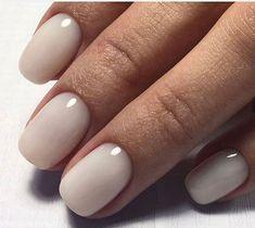 Breathtaking nude nail polish Nail Art Ideas to spice up your manicure Nails Polish, Nude Nails, Acrylic Nails, Coffin Nails, Ivory Nails, Hair And Nails, My Nails, Nagellack Design, Nagel Blog