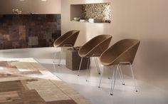 HIBISCUS - Chaise 4 pieds - Design Valentina BATTOCCHIO - SITIA
