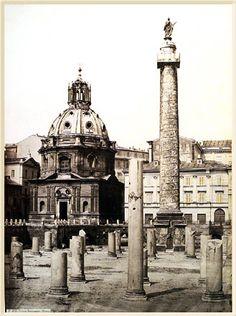 Forum Trajanum 1865 (ca) Albumen print
