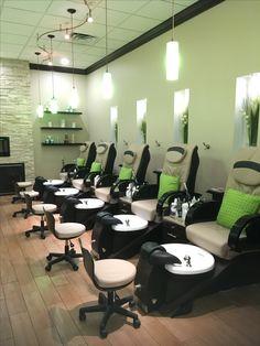 Pedicure Room Spa Interior, Nail Spa, Beauty Nails, Pedicure, Envy, Conference Room, Table, Furniture, Home Decor