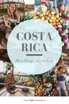 Costa Rica Photo Diary Quick Guide - Light Travels Co Travel Pictures, Travel Photos, Travel Tips, Instagram Inspiration, Adventures Abroad, Costa Rica Travel, Photo Diary, Travel Light, Way Of Life