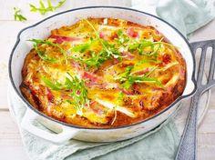 Käse-Schinken-Omelett Rezept | LECKER