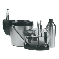 OXO SteeL 11-Piece Barware Set by OXO, $99.99 http://www.amazon.com/dp/B000A38932/ref=cm_sw_r_pi_dp_h652qb1CC6524