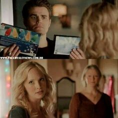 What are you doing here? ... So basically momma Forbes knew she was dying and wanted someone to take care of Caroline so she tried to fix their friendship. You go Sheriff.
