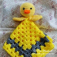 Duck Crochet Lovey Inspiration (can't find the actual pattern)