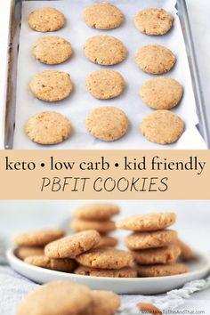 Keto Chocolate Chip Cookies, Keto Cookies, Sugar Cookies, Peanut Cookies, Peanut Butter Cookie Recipe, Cookie Recipes, Dessert Recipes, Keto Desserts, Jelly Cookies