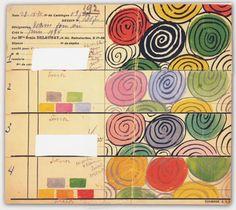 www.mid-century-home.com  Sonia Delaunay, circles