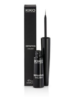 Kiko Makeup Milano Eye Liner, the best ive ever used. got it in italy :)