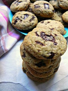 The BEST Vegan Chocolate Chunk Cookies - Ceara's Kitchen