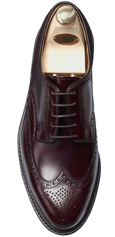 Pembroke Burgundy Cavalry Calf | Crockett & Jones