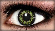 Prescription color contacts - ambition green