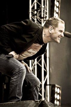 I am giggin' on Corey Taylor right now.