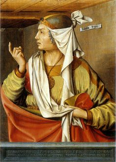 ROBERT CAMPIN (1375 - 1444) | Phrygian Sibyl (Ludger tom Ring the Elder after Robert Campin ) - Munster, Landesmuseum for Kunst and Kulturgeschichte