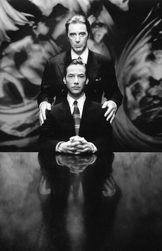 The Devil's Advocate with Al Pacino, Keanu Reeves another of my favorites. Al Pacino portrayed The Devil. Al Pacino, Keanu Reeves, Love Movie, Movie Stars, Movie Tv, Marlon Brando, Movies And Series, Movies And Tv Shows, Bon Film