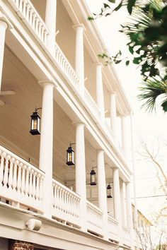 Big, southern double porch