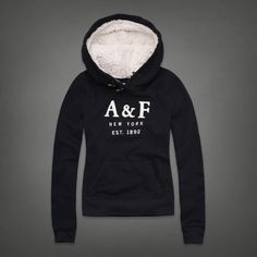 Sherpa Hoodie | Abercrombie.com | Check out our Pin To Win Challenge at http://on.fb.me/UfLuQd