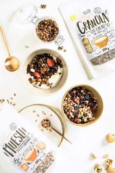 Our wide variety of granola and muesli series is made exclusively of organic ingredients linked to organic coconut syrup and cooked at a RAW temperature.   #dietfood #nowhitesugar #healthysnack #granolalover #organicmuesli #organicgranola
