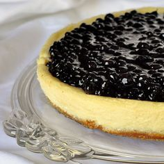 "Blueberry Sour Cream Flan - a reader raved about this very easy dessert recipe, ""You are amazing. I never thought a dessert that was so easy to make would be so delicious!!!"" If you need an easy but elegant and impressive dessert, this is it!    Click the image for more pins for Pinterest.."